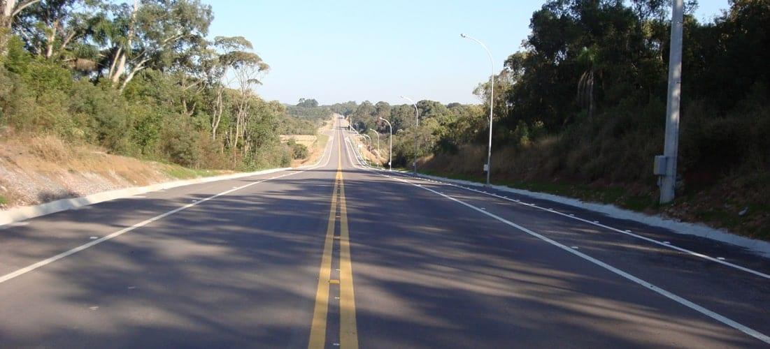 Manutenção e implantação de rodovias